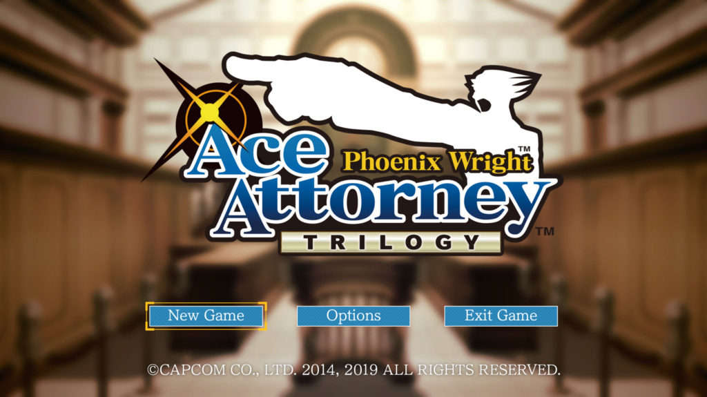 Phoenix Wright: Ace Attorney Trilogy - Options for Accessibility -Ability  Powered